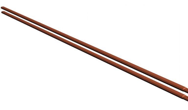 Putkilumieste RR750 tiilenpunainen