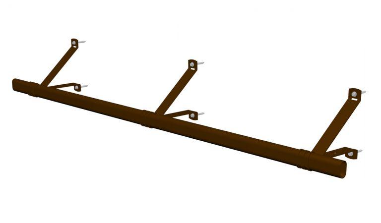 Poistumisputki RR32 tummanruskea